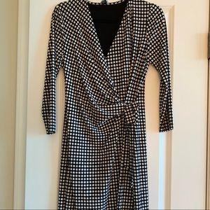 Anne Klein Dresses - Anne Klein Faux Wrap Dress (Size Med)